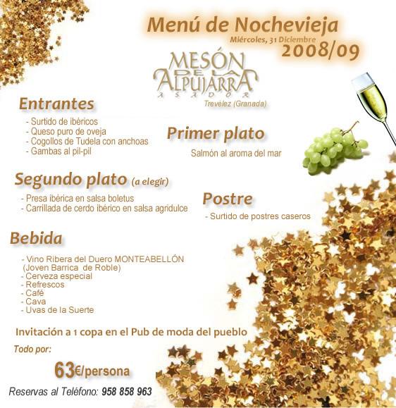 Restaurante asador mes n de la for Menu frances tipico